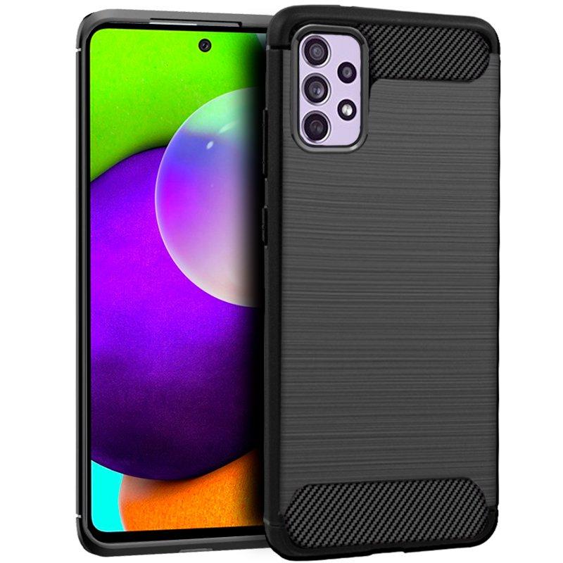 Carcasa COOL para Samsung A525 Galaxy A52 / A52 5G Carbón Negro