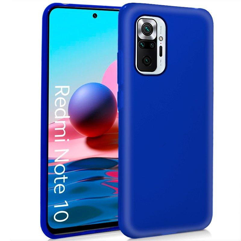 Funda COOL Silicona para Xiaomi Redmi Note 10 Pro (Azul)