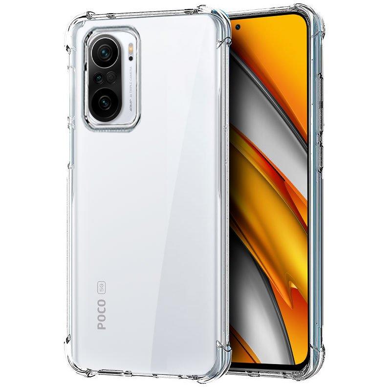 Carcasa COOL para Xiaomi Mi 11i / Pocophone F3 AntiShock Transparente