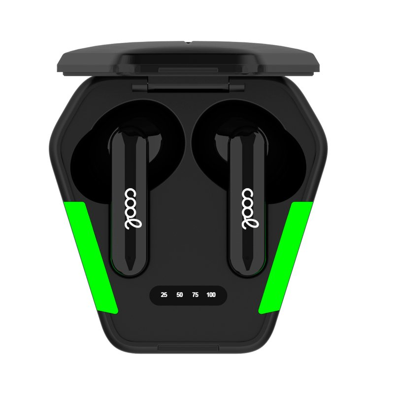 Auriculares Stereo Bluetooth Dual Pod Lcd COOL AIR GAME