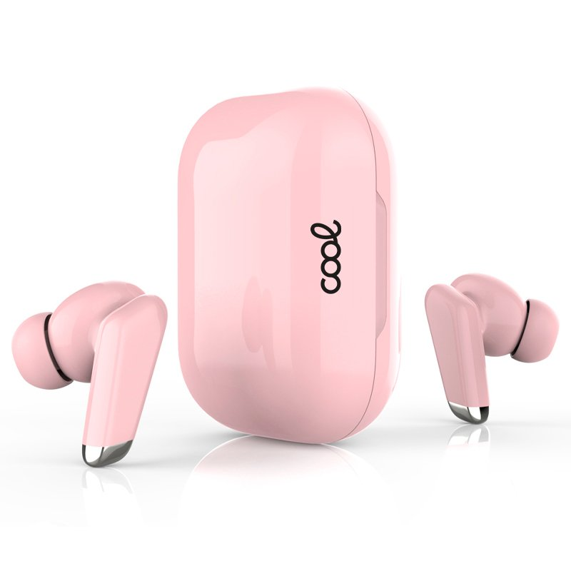 Auriculares Stereo Bluetooth Dual Pod Earbuds COOL URBAN Lcd Rosa