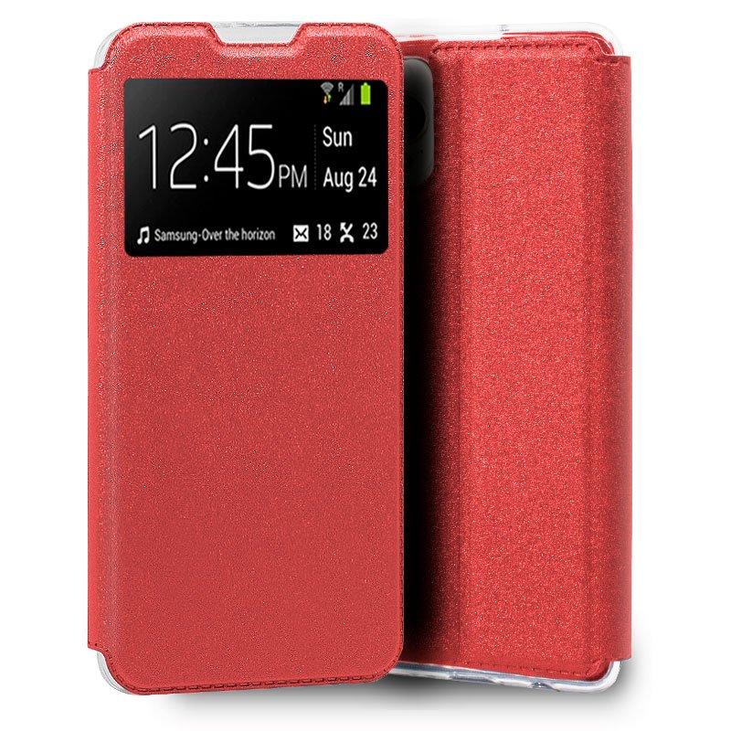Funda COOL Flip Cover para iPhone 13 Pro Max Liso Rojo