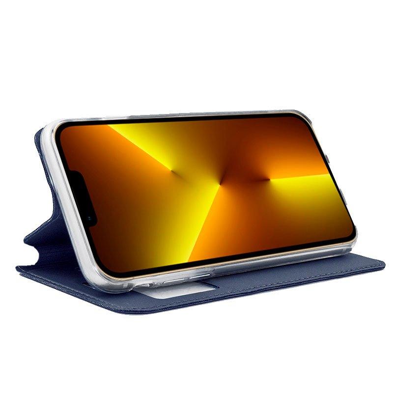Funda COOL Flip Cover para iPhone 13 Pro Max Liso Azul