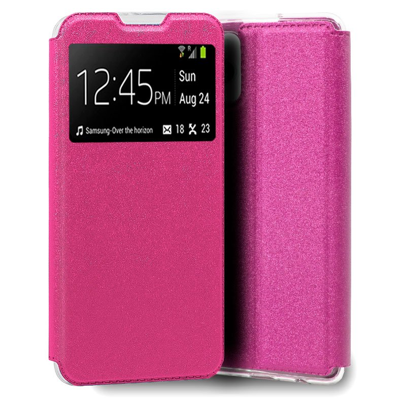 Funda COOL Flip Cover para iPhone 13 Pro Liso Rosa
