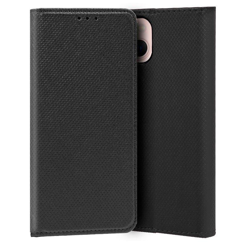 Funda COOL Flip Cover para iPhone 13 Liso Negro
