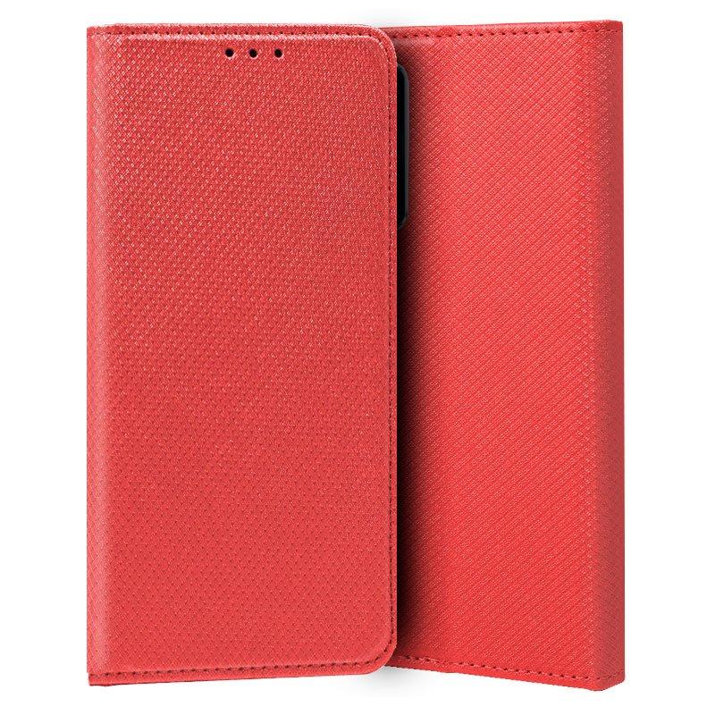 Funda COOL Flip Cover para Vivo Y70 Liso Rojo