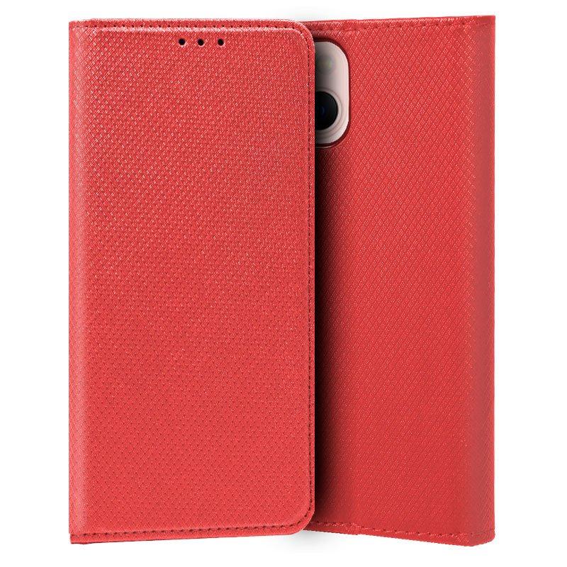Funda COOL Flip Cover para iPhone 13 Liso Rojo