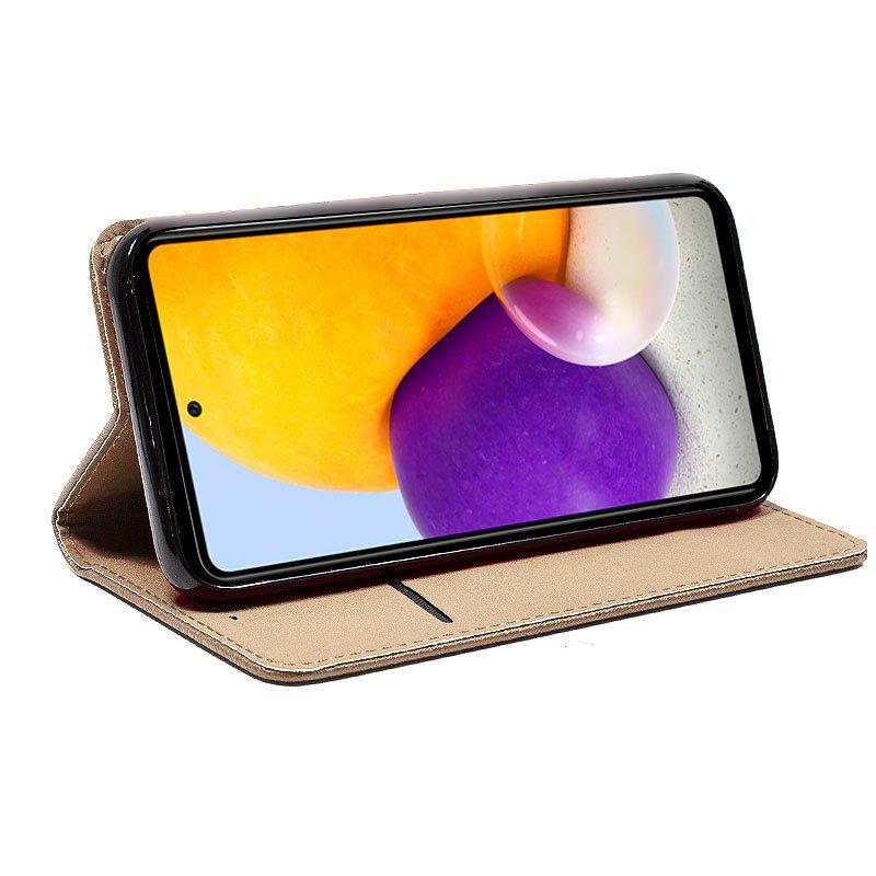 Funda COOL Flip Cover para Samsung A725 Galaxy A72 Liso Beige