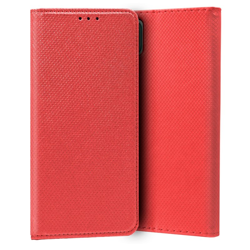 Funda COOL Flip Cover para Samsung A225 Galaxy A22 4G Liso Rojo