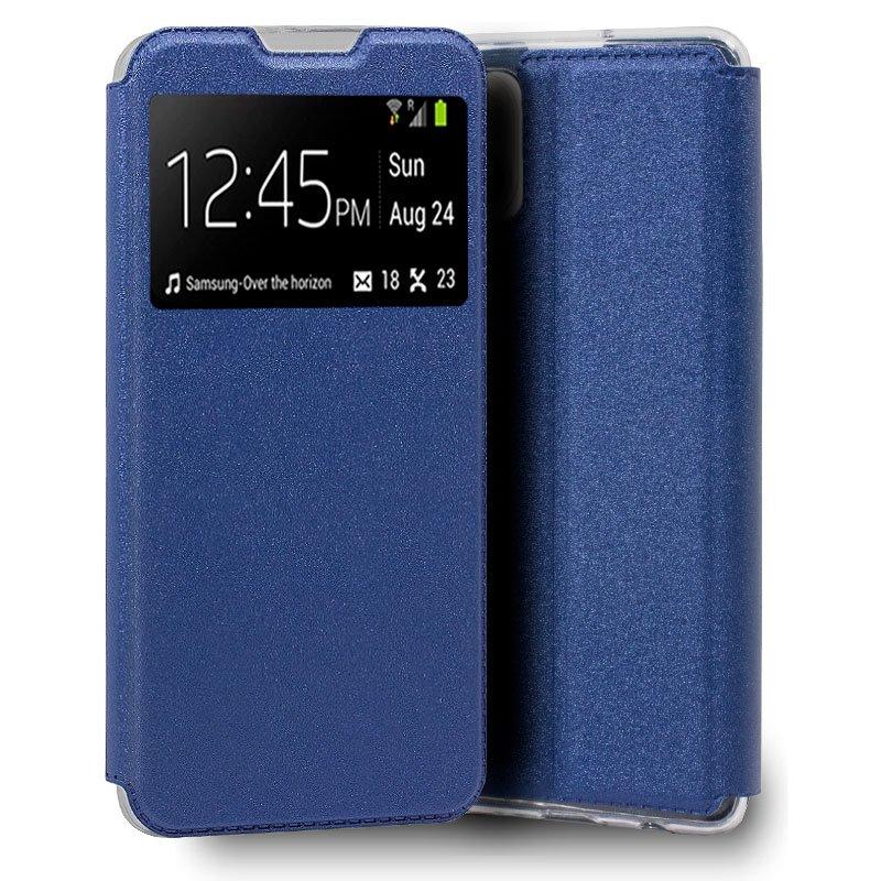 Funda COOL Flip Cover para iPhone 13 Pro Liso Azul