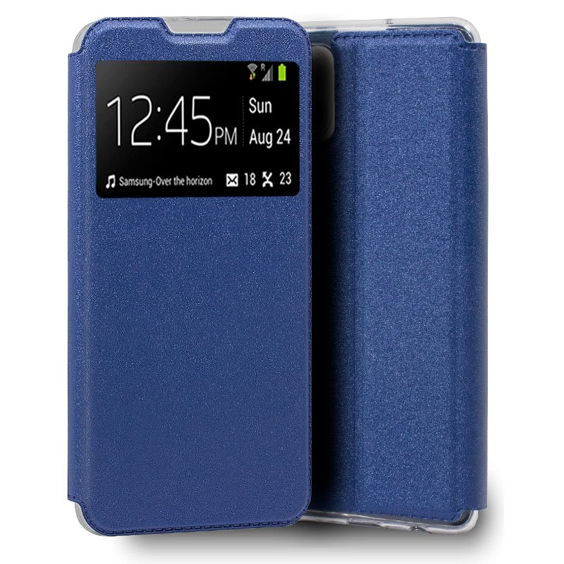 Funda COOL Flip Cover para iPhone 13 mini Liso Azul